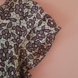 Nanette Lepore Tops - Vintage Nanette Lepore 100% silk floral top 6